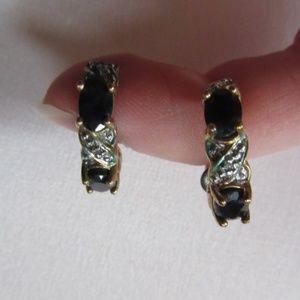 Jewelry - Sapphire Earrings Arc